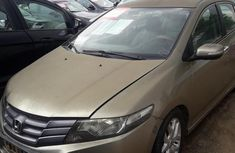Neat Honda City 2010 Gold for sale