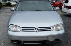 Clean Neat Volkswagen Golf 2000 Silver For Sale