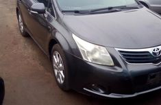 Clean Toyota Avensis 2011 Gray for sale