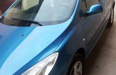 Clean Peugeot 307 2005 Blue for sale