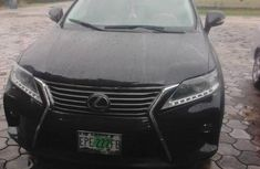 Lexus Rx350 2012 Black for sale