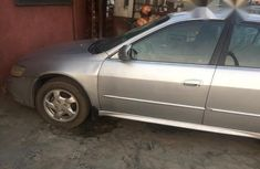 Neatly Used Honda Accord 2002 Silver For Sale
