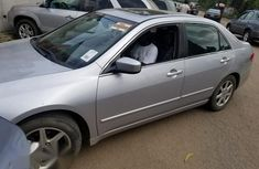 Fresh Tokunbo Honda Accord 2005 Silver for sale