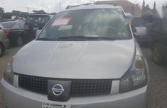 Neatly used Nissan Quest 2004 Silver for sale