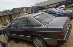 Mercedes Benz 190 1982 Gray For Sale