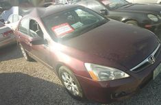 Clean Honda Accord 2005 Red for sale