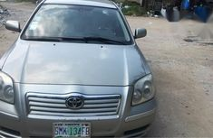 Toyota Avensis 2004 Gray for sale