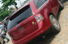Clean Ford Edge 2010 Red for sale