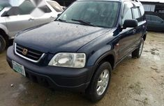 Clean Nigerian Used Honda CR-V 2000 Blue