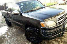 Clean Toyota Tundra 2002 Black for sale