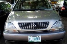 Neatly Used Lexus RX 1999 Gold for sale