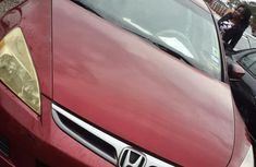 Honda Accord 2006 Red for sale