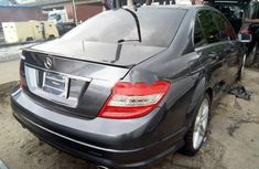 2008 Mercedes-Benz C350 Grey for sale in Lagos