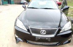 Lexus Is350 2010 Black for sale