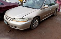 Honda Accord 2001 Petrol Automatic Gold for sale