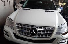 Mercedes-Benz ML350 2011 White ₦7,500,000 for sale