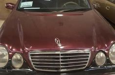 Mercedes-benz E240 2001 Red for sale