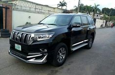 Toyota Land Cruiser Prado 2018 Black for sale
