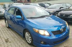 Tokunbo Toyota Corolla Sport 2010 Blue for sale