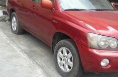 Toyota Highlander 2003 Red for sale