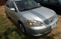 Toyota Corolla Sport 2005 Silver for sale