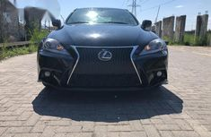 Lexus IS350 2013 Black For Sale