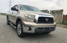 Toyota Tundra 2008 Gold for sale