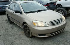 Toyota corolla 2003 for sell
