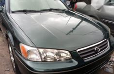 Clean and neat Toyota Camry LE 2001 Green for sale