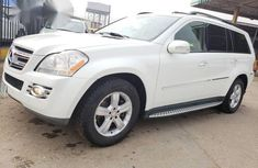 Mercedes-Benz GL Class GL450 2008 White for sale
