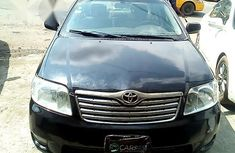 Toyota Corolla 2004 Black for sale