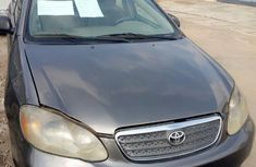 Toyota Corolla CE 2005 Gray for sale