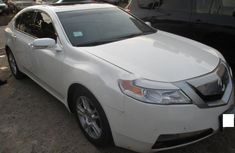Clean Acura TL 2010 White for sale