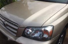 Toyota Highlander 2007 Gold for sale