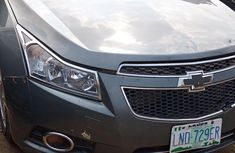 Clean Chevrolet Cruze 2010 Gray for sale