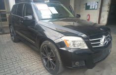 Clean Mercedes-Benz GLK-Class 2010 Black for sale