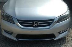 Neat Honda Accord 2014 Silver for sale