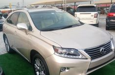 Tokunbo Lexus RX350 2013 Gold for sale