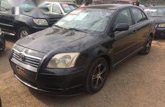 Clean Toyota Avensis 2005 Black for sale