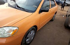 Toyota Corolla 2004 Orange for sale