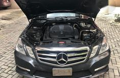 Neat Mercedes-Benz E300 2012 Black for sale