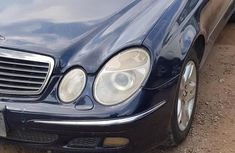 Mercedes Benz E320 2004 Blue for sale
