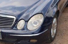 Mercedes Benz E320 2004 Blue for sale