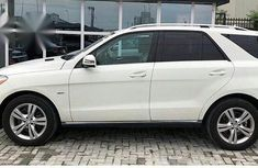 Mercedes-Benz M Class ML350 2012 White for sale