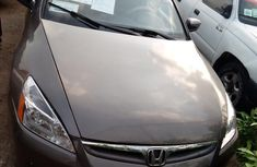 Neatly Used Honda Accord 2007 Grey for sale