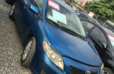 Clean Toyota Corolla 2009 Blue for sale