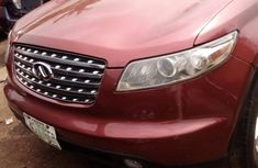 Infiniti FX35 2005 Red for sale
