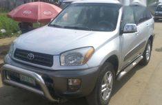 Clean Toyota RAV4 2003 Silver for sale