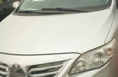 Registered Tokunbo Toyota Corolla 2012 Silver for sale