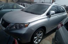 Lexus RX350 2010 Silver for sale